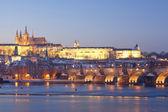 Prague in winter — Stock Photo