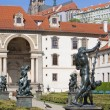 Prague, wallenstein garden — Foto de Stock