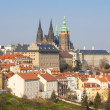 Prague hradcany castle — Stock Photo