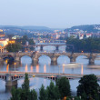 Prague bridges — Stock Photo #11276758