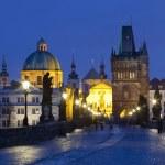 Prague charles bridge — Stock Photo #11335385