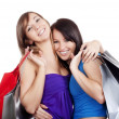 Girls with shopping bags — Stock Photo #11335490