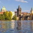 Prague charles bridge — Lizenzfreies Foto