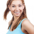 Young woman smiling — Stock Photo #11336423