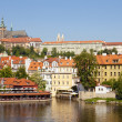 Prague - hradcany castle - Stock Photo