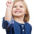 Portrait of a little girl — Stock Photo #11338862
