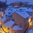 Prague in winter - Stock Photo