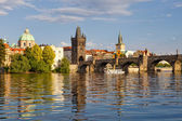 Prague charles bridge — Stockfoto