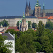 Prague - hradcany castle - Stockfoto