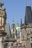 Praha - architektonický styl — Stock fotografie