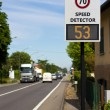 Stock Photo: Speed detector