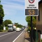 Постер, плакат: Speed detector