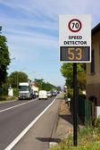 Speed detector — Stock Photo