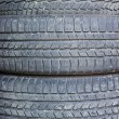 Royalty-Free Stock Photo: Stack used tires