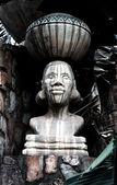 非洲雕像 — 图库照片