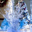 Stock Photo: White Christmas Decorations