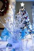 White Christmas Decorations — Stock Photo