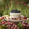 Stock Photo: Fruit Tray Outdoors