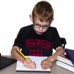 Boy doing Homework — Stock Photo #11221762