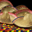 Party Mexican Hats - Stock Photo