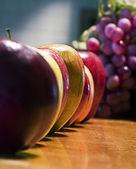 Składzie jabłko — Zdjęcie stockowe