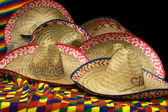 Party Mexican Hats — Stock Photo