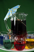 Festive Party Drinks — Stock Photo