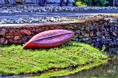 Virou a canoa — Foto Stock