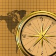 Stock Photo: Compass/Map Graphic/Illustration