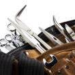 Workers belt with tools — Stock Photo #11384254