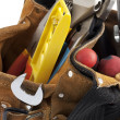 Work tools in tool belt — Stock Photo #11384266