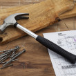 Carpenters table — Stock Photo #11384399