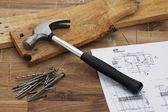 Tabella carpentieri — Foto Stock