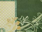 Vector of a green wallpaper — Stock Photo
