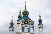 St. Andrew's church in Kyiv — Stockfoto