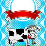 Cow. — Stock Vector