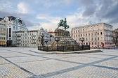 Monumento a bogdan khmelnitsky — Fotografia Stock