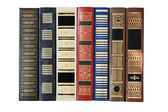 Row of old books — Stock Photo