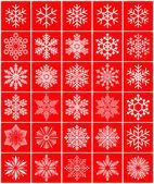 Schneeflocke — Stockvektor