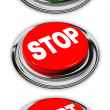 Go, stop and start buttons — Stock Photo