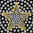Star with diamonds 01 — Stock Photo #11872121