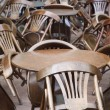 Tables and chairs — Stock Photo #11872348