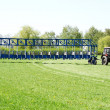 Starting gate - Stock Photo