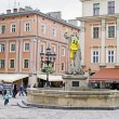 Lvov city on the eve of EURO 2012 — Stock Photo