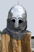 Knight's helmet — Foto de Stock