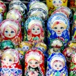 Russian matrioshka — Stock Photo