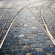 Tram rails — Stock Photo #11903134