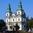 Catholic Cathedral in Ternopil - Stock Photo