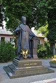 Patriarch Joseph the Blind Monument in Ternopil — Stock Photo
