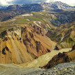 Landmannalaugar in Iceland — Stock Photo